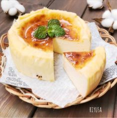 Sweets Recipes, Cooking Recipes, Japanese Pastries, Asian Desserts, Holiday Cakes, Pudding Recipes, Healthy Sweets, Holiday Baking, Food Menu