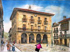 Gernikako udaletxea.  Ayuntamiento de Gernika. #Gernika