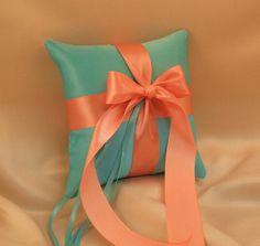 Romantic Satin Ring Bearer Pillow...You Choose by RomancingJuliet, $22.50