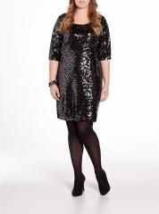 20 bucks at reitmans.  boxing day sale. plus size sequin dress.