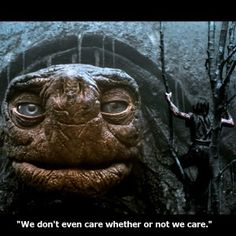 Do you care if your people care? Morla, from Never Ending Story was stagnant too long. The same problem can occur for leaders and damage your company. More at: http://modernservantleader.com/servant-leadership/do-you-care-if-your-people-care/