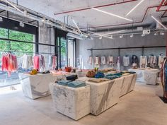 Sports Store | Retail Design | Shop Interior | Sports Display | Zadig & Voltaire by Isabelle Stanislas