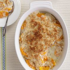 Our healthy version of butternut squash gratin saves about 160 calories and 12 grams of saturated fat.