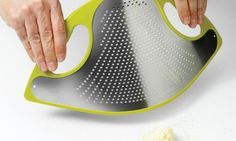 Simple Genius: A Bendable Cheese Grater That's A Cinch To Clean   Ely Rozenberg