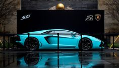 Baby Blue Lamborghini LP700-4 by ZR-Design, via Flickr