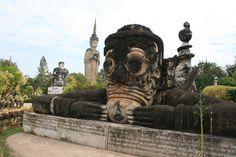 sculpture park, thailand