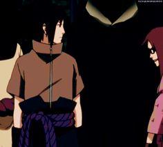 Hug Gif   Sasuke Uchiha  x Karin Uzumaki   SasuKarin   Ice & Spice   Blue / Black & Red / Purple   Naruto Shippuden   anime manga couple   OTP