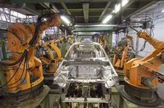 Kuka robots in action