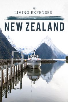 Living Expenses in New Zealand - Living in Another Language #newzealand #newzealandtips