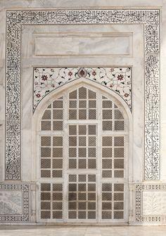 ˚Taj Mahal Door