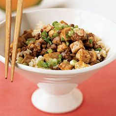 Ma Po Tofu from Cooking Light