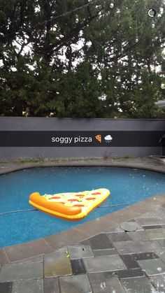 i love how i just know whos pool this is without question