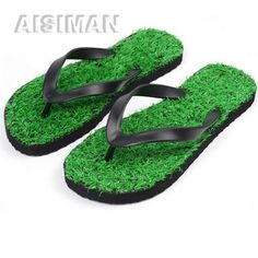 With special grass designed, you can be the special and unique one on any occasion. Custom Flip Flops, Personalized Flip Flops, China Beach, Beach Grass, Thing 1, Sliders, Stylish, Unique, Design