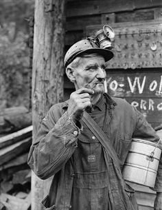 Coal miner, Harlan County, Kentucky, ca. 1946, photo by Russell Lee