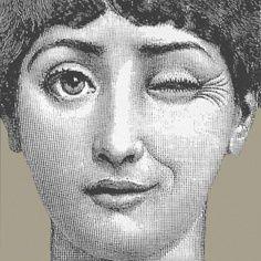 Occhiolino    Tema e variazione   Piero Fornasetti