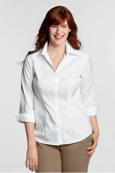 396b13c4d9267 Splitneck Size 3 4 Sleeve Women S Plus Sizes Splitneck Shirts .