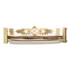 Seychelles - Bracelet manchette - Hipanema - Nouvelle Collection et ventes privées - Ref: 1469606 | Brandalley