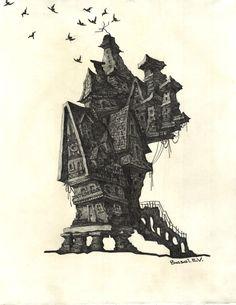 Сказочный домик/ Fairy house Екатерина/Ekaterina Басай/Basai