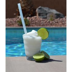 "Customer submitted photo: ""Lime-a-Colada made form Coco Lopez Cream of Coconut"" - Taylor D. from Put the Lime in the Coconut"