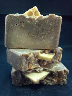 Honeycomb ~ Gourmet Soap Bar ~ Made with Milk and Honey
