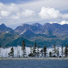 """""""Wide sea, that one continuous murmur breeds along the pebbled shore of memory!"""", --John Keats; Photo:Seward, Alaska"""