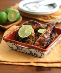 Chipotle Lime Grilled Chicken Recipe | All Day I Dream About Food