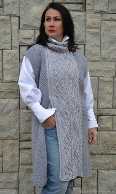 Inspiration for crochet Knitting Patterns Free, Knit Patterns, Hand Knitting, Easy Crochet Projects, Crochet Fashion, Crochet Clothes, Knitwear, Knit Crochet, Womens Fashion