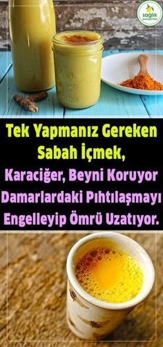 Damarlardaki Pıhtılaşmayı engelliyor, tek yapmanız gereken sabah içmek. #sağlık #karaciğer #beyin #pıhtı #ömür #damar The Cure, Vitamins, Food And Drink, Medical, Herbs, Fruit, Healthy, Erdem, Facebook
