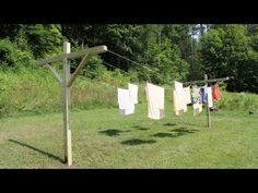 How To Build A Clothesline Entrancing Diy Weekend Project How To Build A Kickass Clothesline  Diydiva Design Ideas