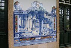 Painel de Azulejos: Claustro do Convento de S. Clara, Portalegre - Marvão-Beirã