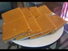 How to make Sweet Potato Pie Squares - YouTube