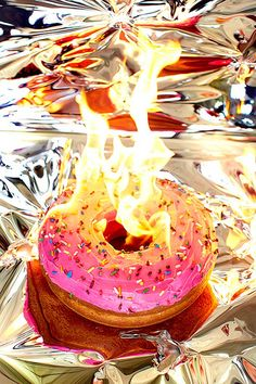 Burning Calories – La Junk Food par Henry Hargreaves