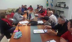 Defensa Civil Campana participó de la reunión del Consorcio Zona 8