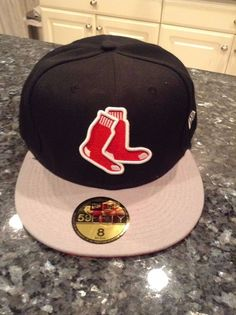 2fbd77a7c6c Boston  RedSox New Fitted Cap Hat Size 8  MLB from  19.99 Mlb Baseball Caps
