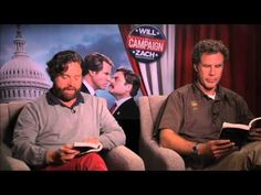 """Will Ferrell & Zach Galifianakis Read '50 Shades of grey...this is hilarious!"""