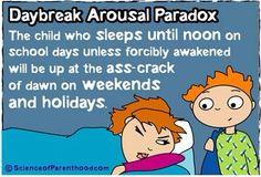 Daybreak Arousal Paradox