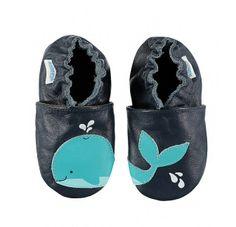 Robeez w Limango - paputki dla niemowlaka idealne do raczkowania Wieloryb.