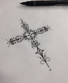 Image result for filigree cross