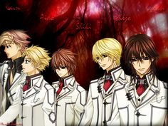 Vampire Knight Characters | Vampire Knight Wallpaper Kaname 9206 Hd Wallpapers in Anime - Imagesci ...