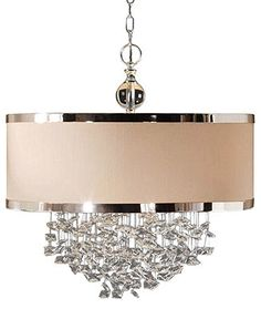 Uttermost Lighting, Fascination 3-Light Hanging Shade Pendant - Lighting & Lamps - for the home - Macy's