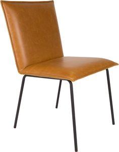 Floke stoel cognac - Robin Design
