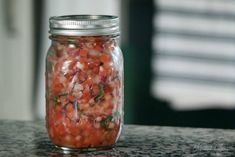 Look no farther for a fresh taste of summer! Cilantro and tomatoes explode in happy unison for this Fresh Tomato Salsa Recipe! Fresh Salsa Recipe, Tomato Salsa Recipe, Fresh Tomato Salsa, Slow Cooker Spaghetti Sauce, Appetizer Recipes, Appetizers, Supper Recipes, Leftover Spaghetti, Pico De Gallo