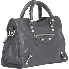 Womens Arena Leather Classic Nano City Bag Balenciaga qKwTjQedDk
