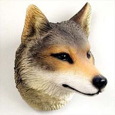 Stone Resin Timber Wolf Magnet