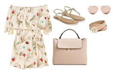 """""""Untitled #167"""" by wrigannabelle on Polyvore featuring Fendi, Accessorize, MANGO, Linda Farrow and GUESS"""