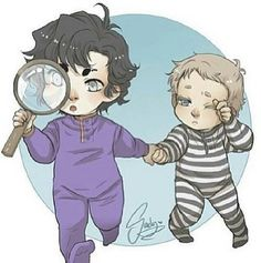 Baby Sherlock & Baby John