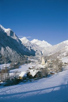 Winter Wonderland in Heiligenblut, Gross Glockner, Austria