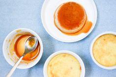 Crème Caramel Recipe on Chocolate & Zucchini