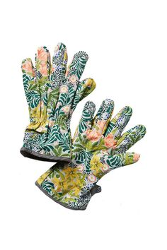 Pretty gardening gloves for the mother with a green thumb.   Floral Gardening Gloves, $24; anthropologie.com.