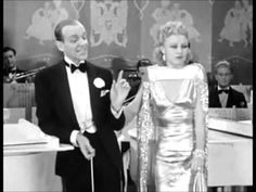 I Won't Dance Fred Astaire & Ginger Rogers - YouTube  Not only does this song have an intro and partial duet I hadn't heard before, but FRED ASTAIRE PLAYS THE PIANO.